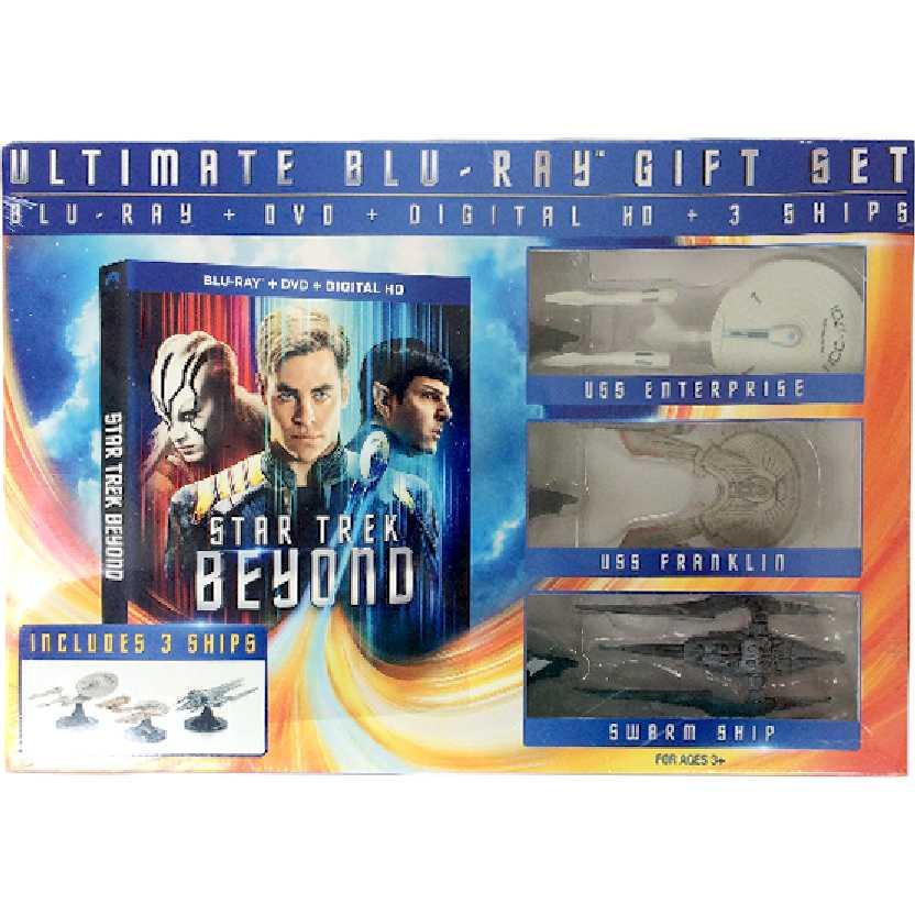 Ultimate Blu-Ray Gift SET com 3 Naves do Star Trek Beyond