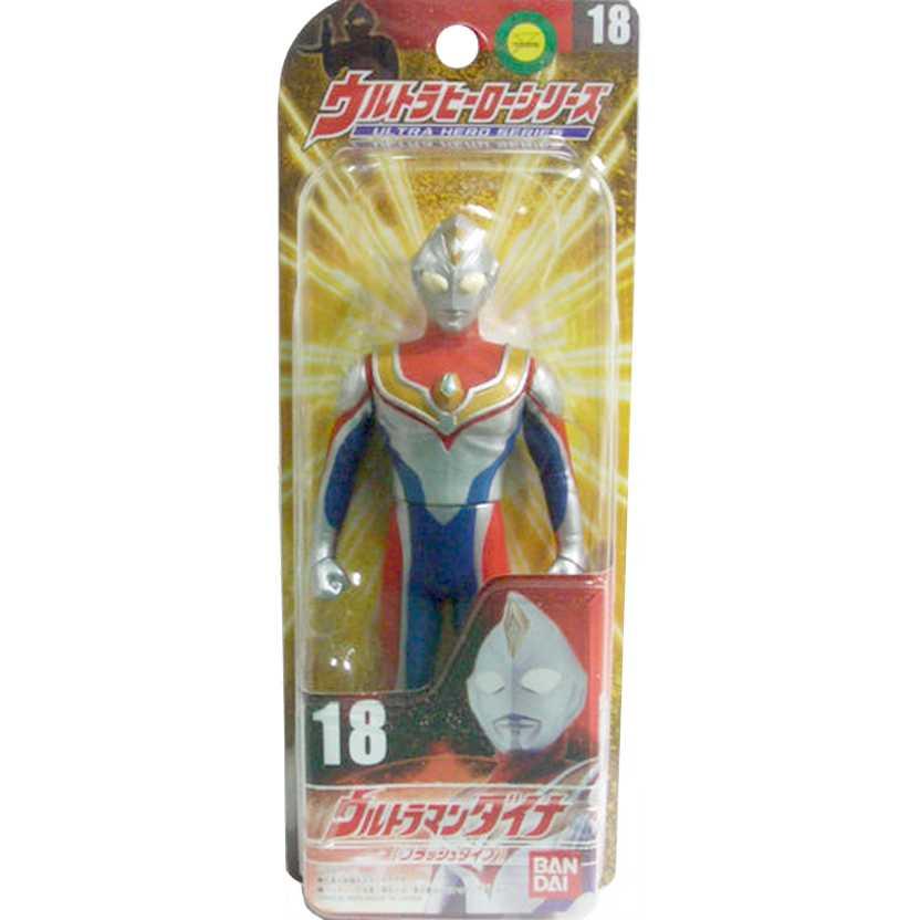 Ultra Hero Series 18 Ultraman Dyna (Flash Type) marca Bandai Action Figures