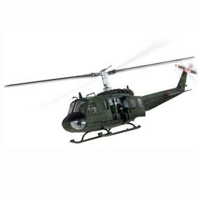 Unimax Forces of  Valor Toys :: Miniatura de Helicóptero U.S. UH-1D Huey Vietnam (1968)