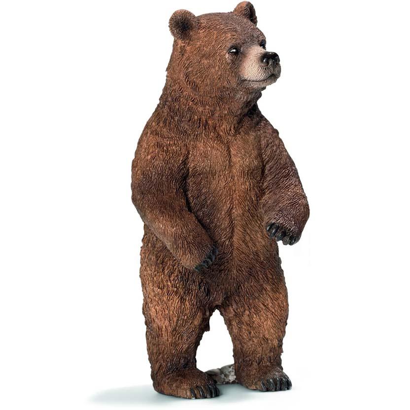 Urso pardo fêmea 14686 - novidades Schleich 2013