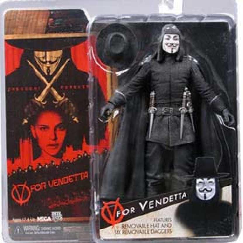 V de Vingança / V for Vendetta marca Neca Toys Action Figures