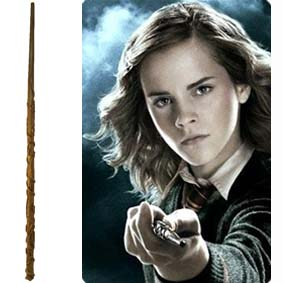 Varinha da Hermione Granger para comprar tamanho 35 cm :: Varinhas Harry Potter