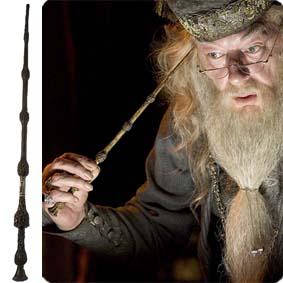 Varinha do Dumbledore para comprar tamanho 38 cm :: Varinhas do Harry Potter