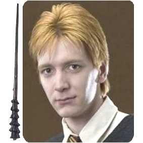 Varinha do George Weasley (wand) Coleção de varinhas do Harry Potter