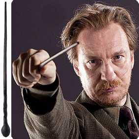 Varinha do Professor Remo Lupin - Coleção Varinhas do filme Harry Potter