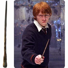 Varinha do Rony Weasley para comprar tamanho 35 cm :: Varinha do Harry Potter