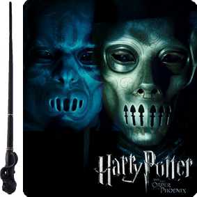 Varinhas Harry Potter comprar varinha do Comensal da Morte ( Death Eater )