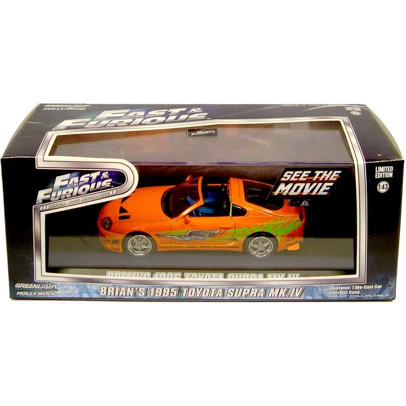 Velozes e Furiosos ( Fast & Furious ) 1995 Toyota Supra do Brian O Conner 1/43