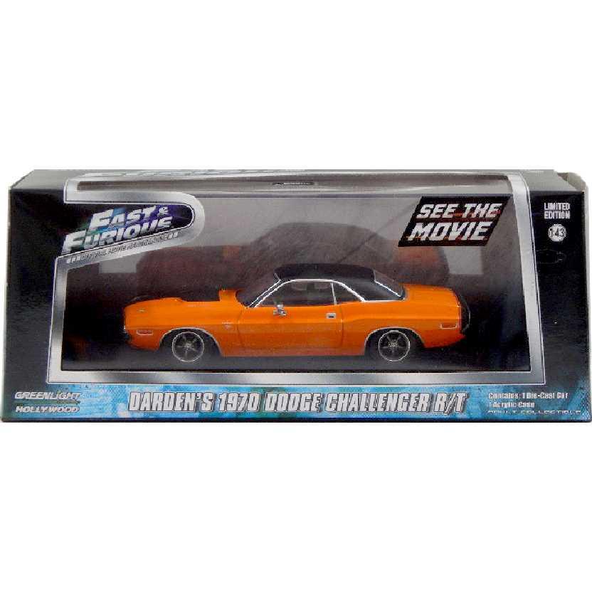 Velozes e Furiosos (Fast & Furious) Dardens 1970 Dodge Challenger R/T escala 1/43