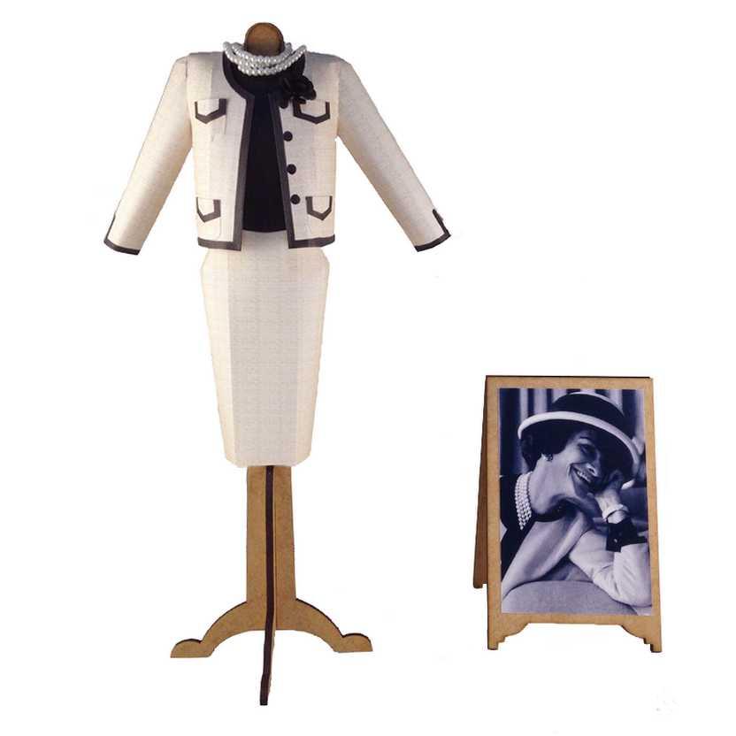 Vestido de papel de Coco Chanel (1959)
