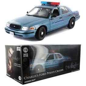 Viatura do Charlie Swan pai da Bella (2008) Ford Crown Victoria Fork Police