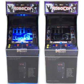 Video Game Mini Arcade Robocop com led ( SEM SOM ) Play Pixel Videogames