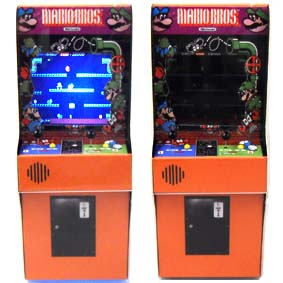 Videogame Mini Arcade Mario Bros. com led ( SEM SOM ) Play Pixel Video games