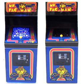 VideoGame Mini Arcade Ms. Pac Man com led ( SEM SOM ) Play Pixel Video Games
