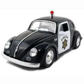 Volkswagen Beetle Police Fusca (1959)