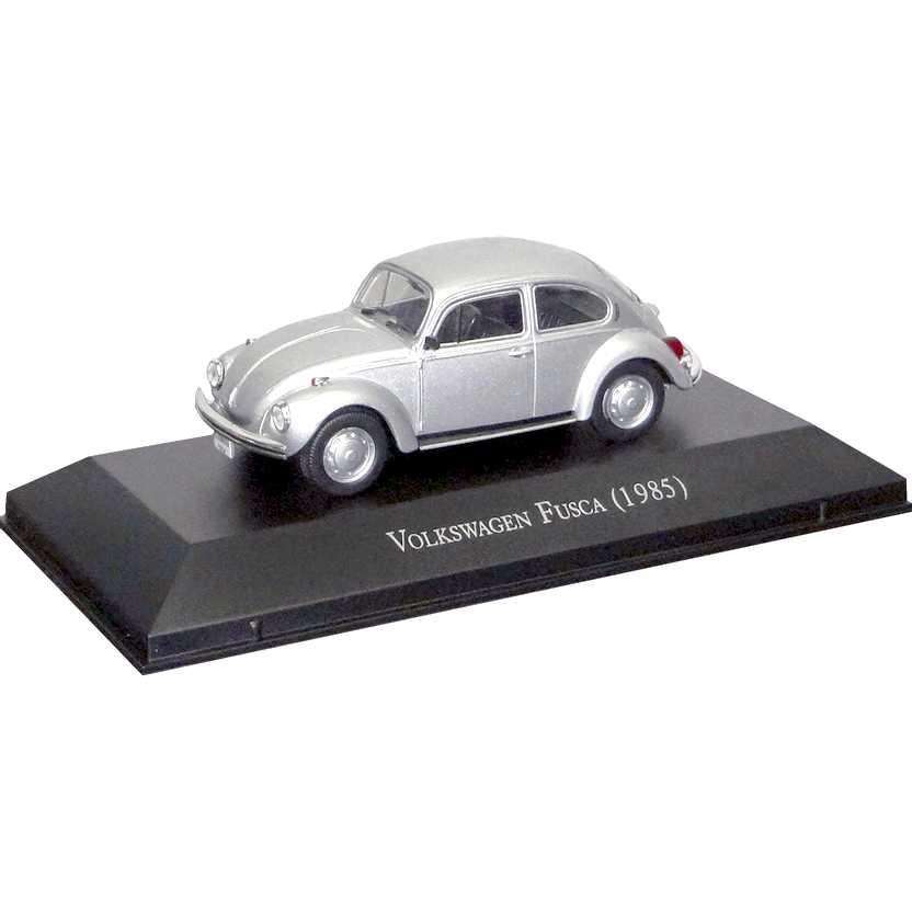 Volkswagen Fusca 1985 - Carros Inesquecíveis Do Brasil escala 1/43