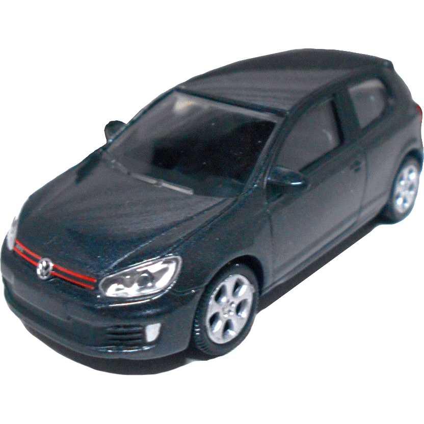 Volkswagen Golf GTi preto metálico (VW geração 6) marca Norev escala 1/64