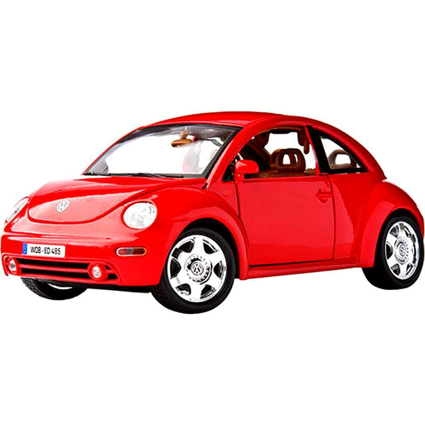 Volkswagen New Beetle Coupe (1998) marca Bburago escala 1/18
