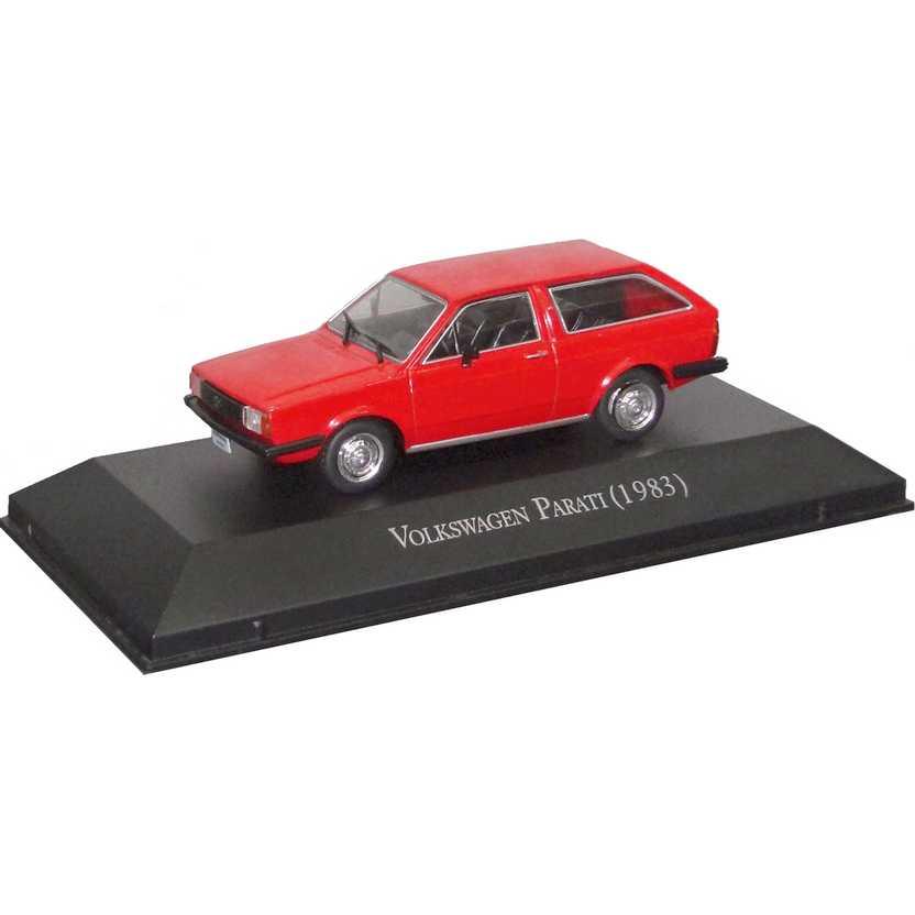 Volkswagen Parati 1983 Coleção Carros Inesquecíveis Do Brasil escala 1/43