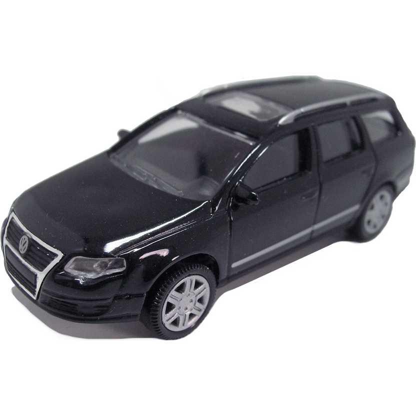 Volkswagen Passat Variant preto VW com retrovisores marca Norev escala 1/64