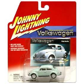 VW Beetle Volkswagen Fusca (1966) Johnny Lightning Brasil