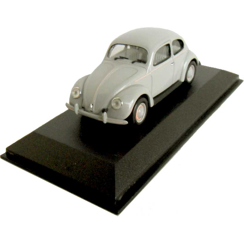 VW Fusca (1949) Volkswagen Beetle Standard Saloon Light Grey Minichamps escala 1/43