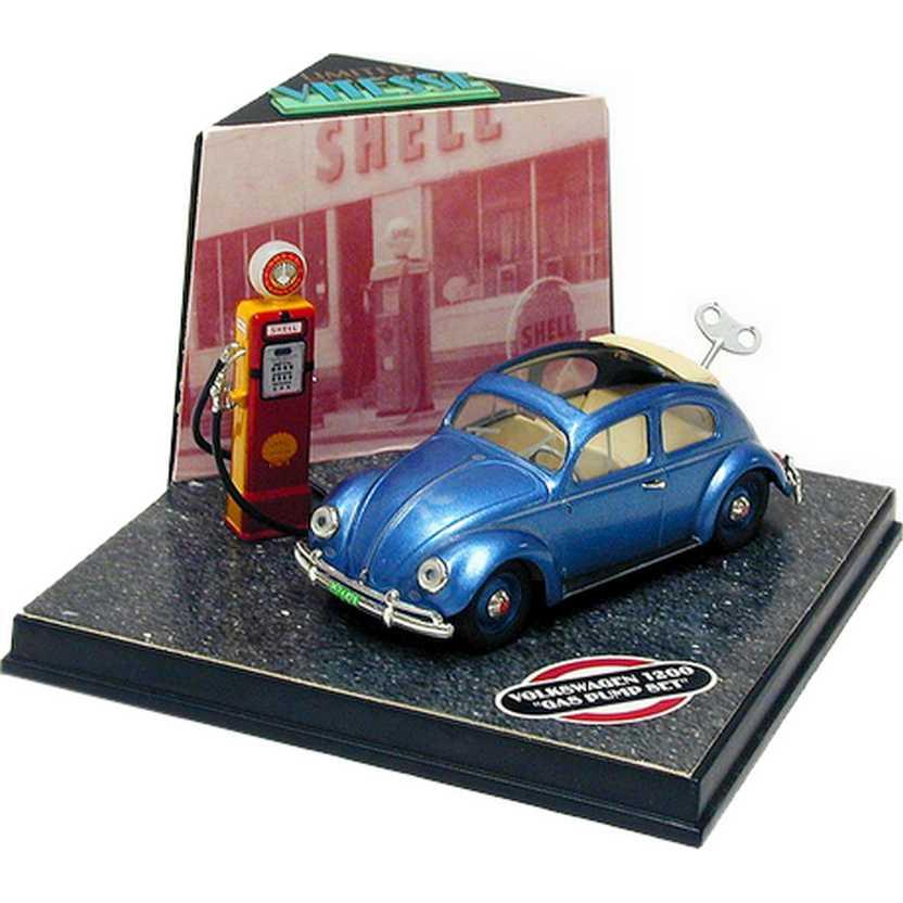 VW Fusca (1955) Volkswagen Beetle Gas Bump Set marca Vitesse escala 1/43