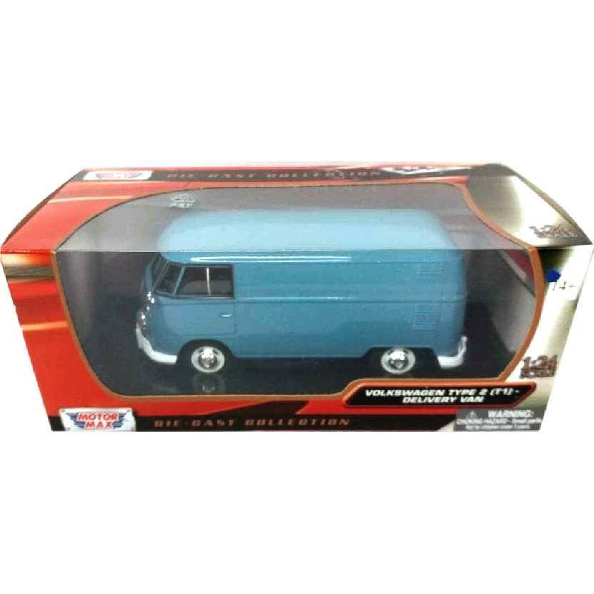 VW Kombi (1967) Volkswagen Type 2 Delivery Bus Motormax escala 1/24