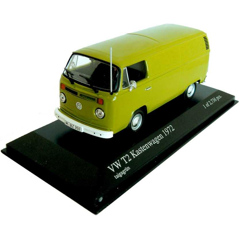 VW Kombi (1972) Volkswagen T2 Kastenwagen - Minichamps escala 1/43