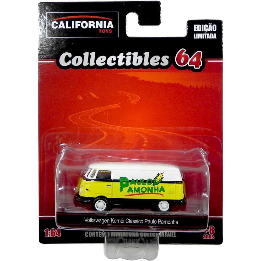 VW Kombi clássico do Paulo Pamonha California Toys Collectibles series 2 escala 1/64