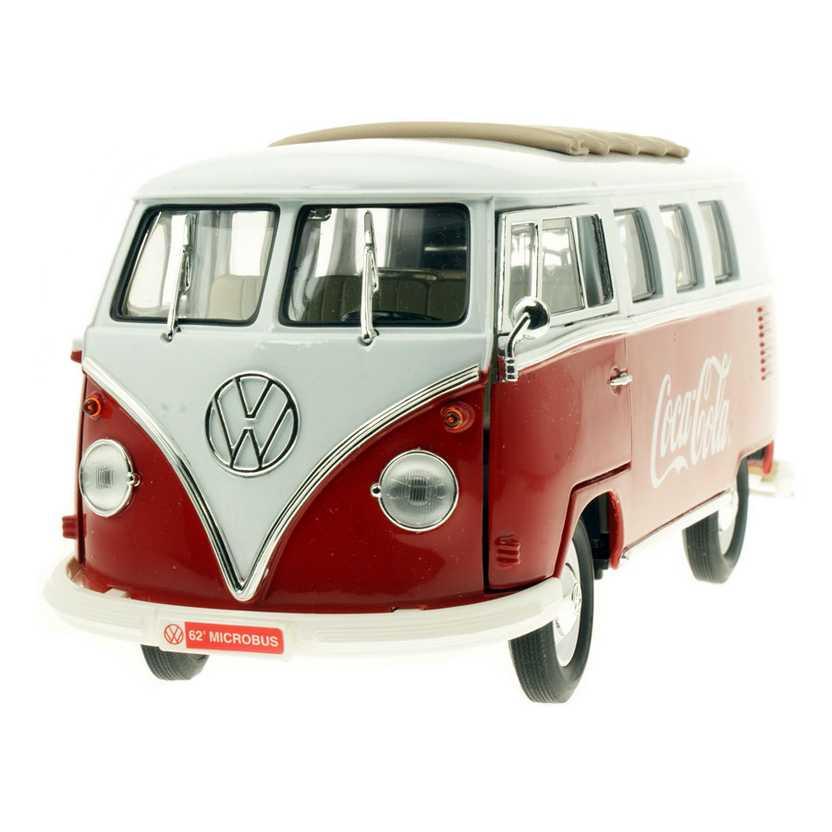 VW Kombi Coca-Cola (1962) Volkswagen T1 Microbus Samba - Motor City escala 1/18