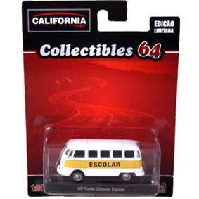 VW Kombi Escolar escala 1/64 Greenlight California Toys Collectibles 64