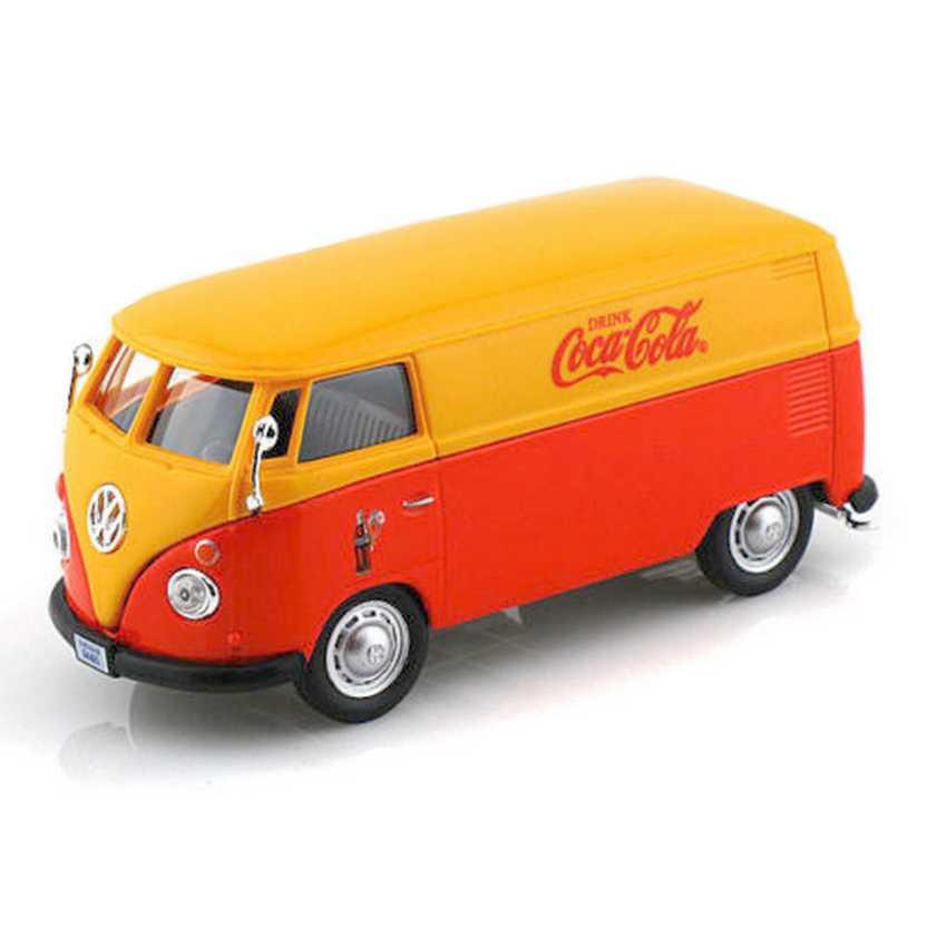 VW Kombi furgão Coca-Cola (1962) Volkswagen Transporter - Motor City escala 1/43