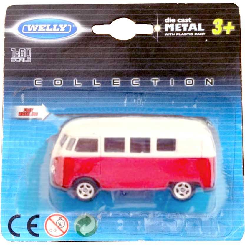 VW Kombi Volkswagen Microbus Welly escala 1/64