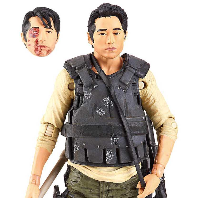 Walking Dead - Glenn Rhee figure - McFarlane Toys series 5 action figures