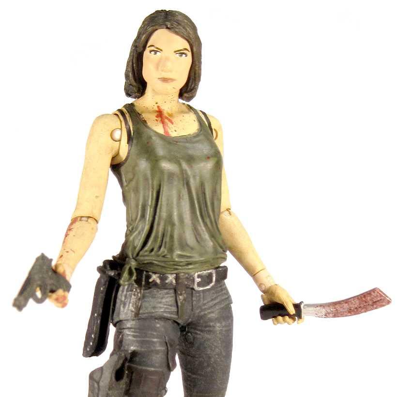 Walking Dead Maggie Greene figure - McFarlane Toys series 5 action figures