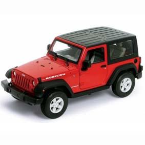 Welly Brasil Diecast Toys :: Miniatura do Jeep Wrangler Rubicon (2007) escala  1/24