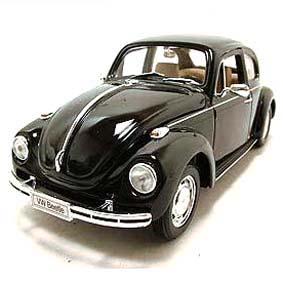 Welly Brasil Fusca 1/24 VW Beetle Miniaturas de Carros de Metal