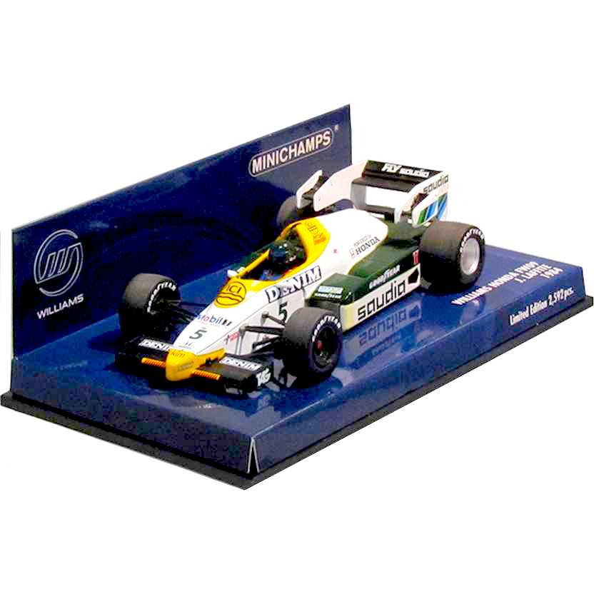 Williams Honda FW09 Jacques Laffite (1984) - Minichamps escala 1/43