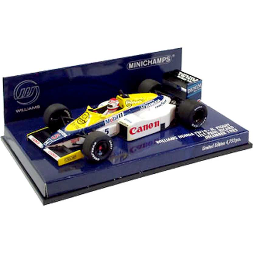 Williams Honda FW10 Nelson Piquet (1985) Minichamps escala 1/43 Test Paul Ricard