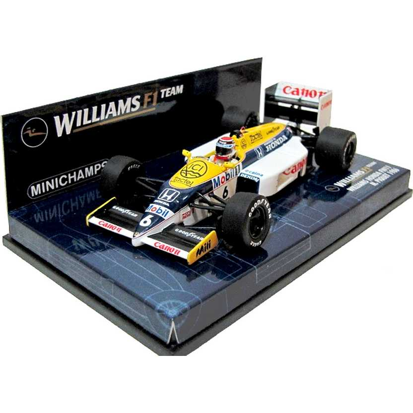 Williams Honda FW11 Nelson Piquet (1986) Minichamps F1 escala 1/43