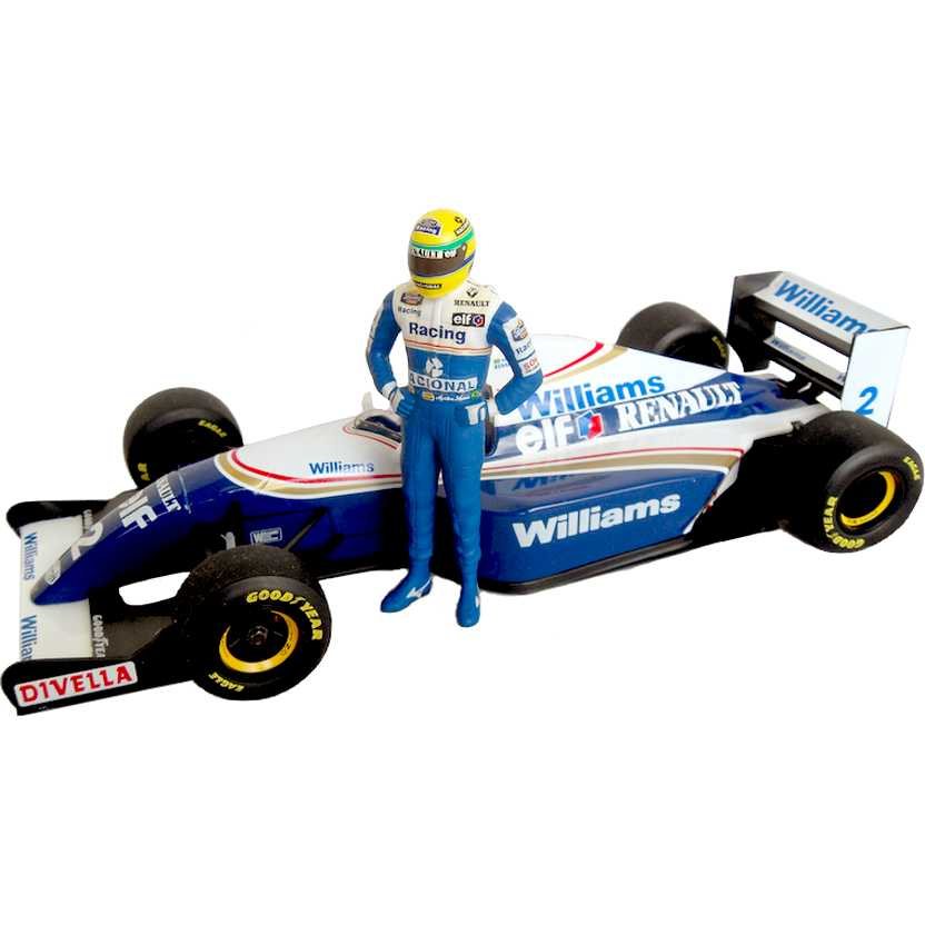 Williams Renault FW15 (1994) Ayrton Senna marca Minichamps escala 1/18