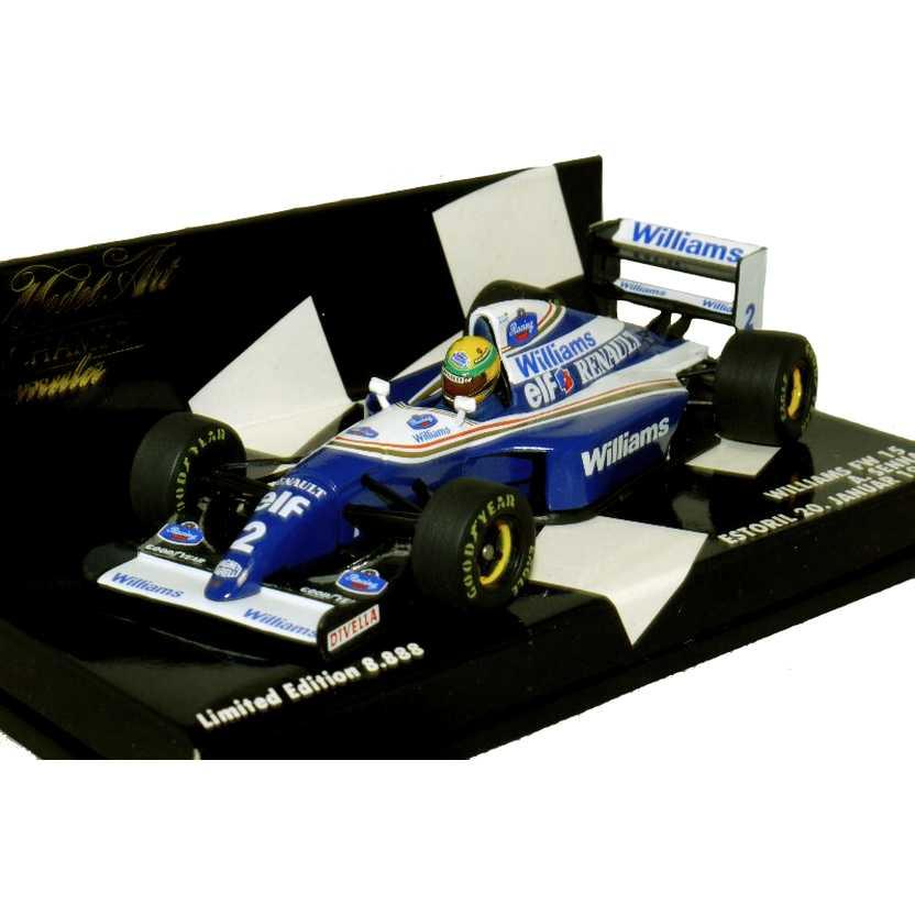 Williams Renault FW15 Ayrton Senna (1994) marca Minichamps escala 1/43 RARO