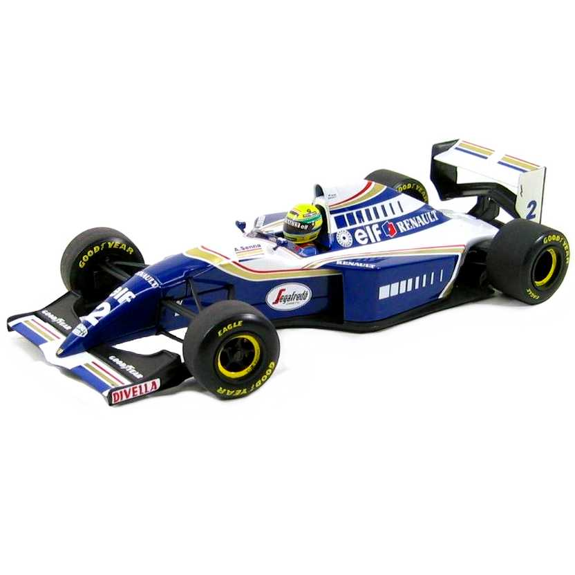 Williams Renault FW16 Ayrton Senna (1994) marca Minichamps escala 1/18