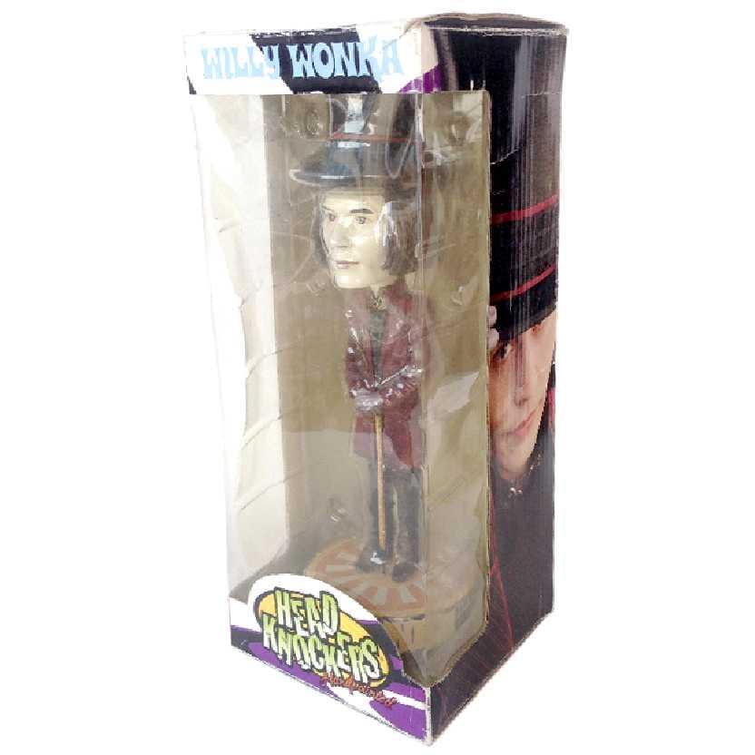 Willy Wonka (A Fantástica Fábrica de Chocolate) Johnny Depp Head Knockers Neca Toys
