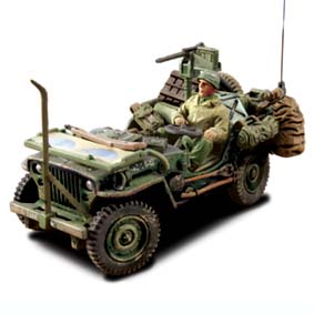 Willys Jeep Exército US Army Normandy, France, D-Day (1944)