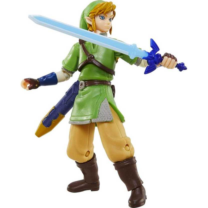 World of Nintendo Series 1 Link - The Legend Of Zelda - Video Game Action Figure