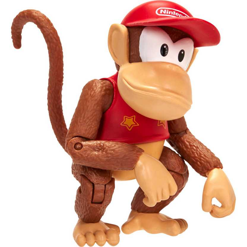 World of Nintendo Series 2 Diddy Kong + Mystery Accessory - Video Game Action Figure