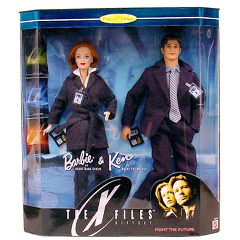 X-Files Barbie Mulder and Scully (1998) Arquivo X