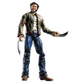 X-Men Origins Wolverine Comics c/ jaqueta (aberto)